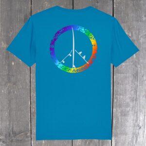 PeaceBoards Bio T-Shirt (backprint)