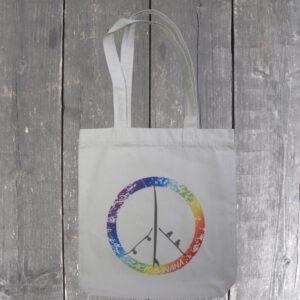 PeaceBoards recyceled Jutebeutel